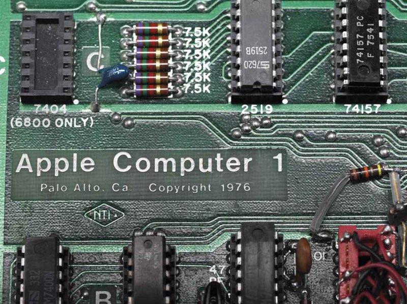 Alle Apple Computer 1's zijn gemaakt in Palo Alto