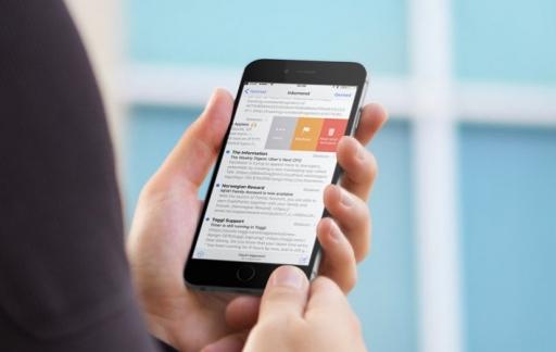 Mail: veenbewegingen op een iPhone