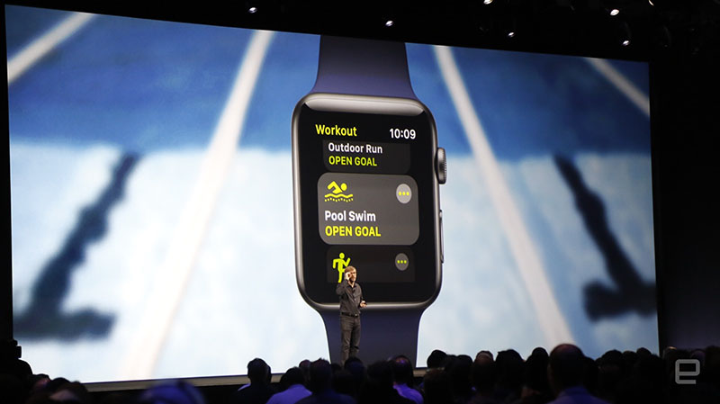 watchOS 4 Activiteit-app