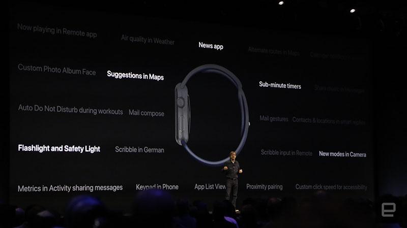 watchOS 4 functies op WWDC 2017