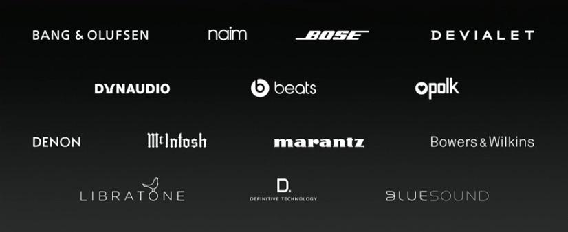 Merken voor speakers voor HomeKit.