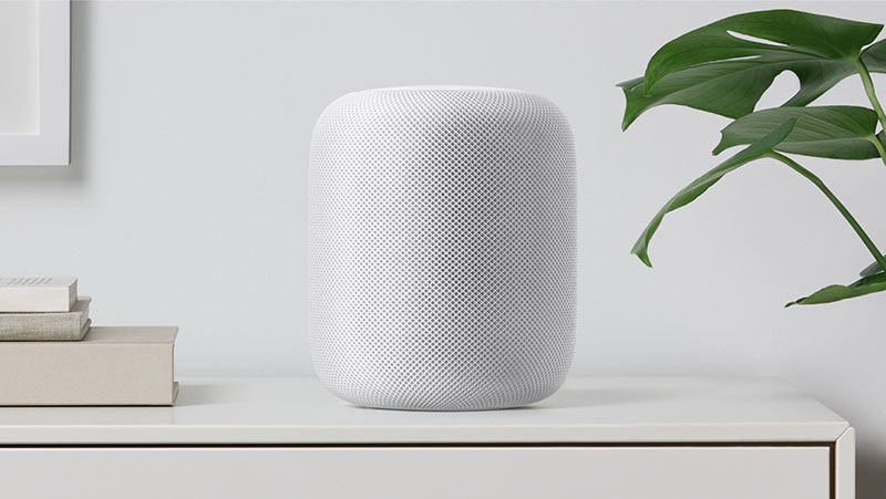 HomePod speaker wit