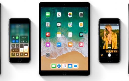 iOS 11 toestellen