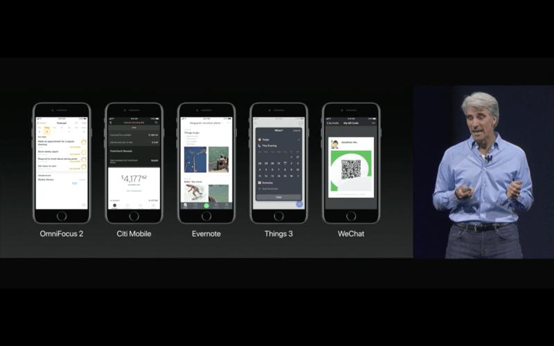 Siri iOS 11 meer toepassingen