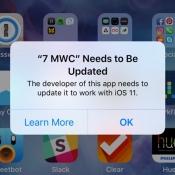 32-bit apps in iOS 11
