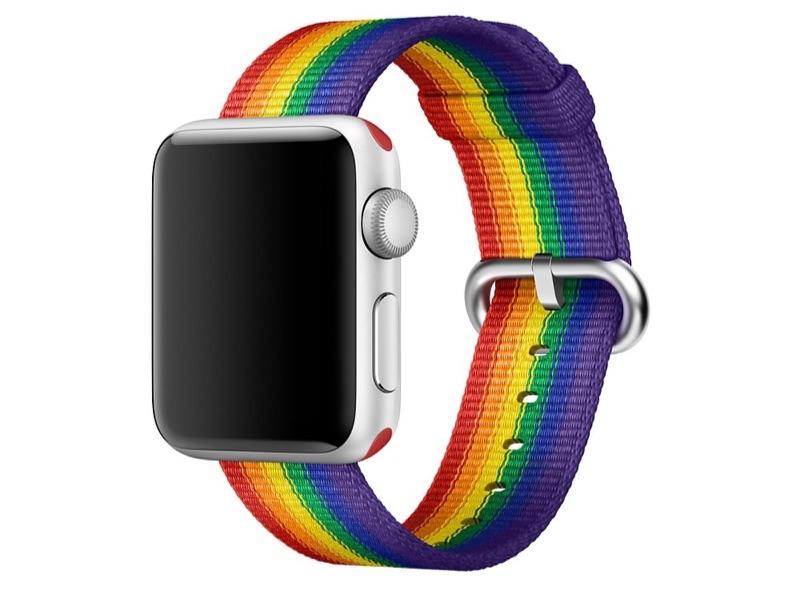 Apple Watch Pride.