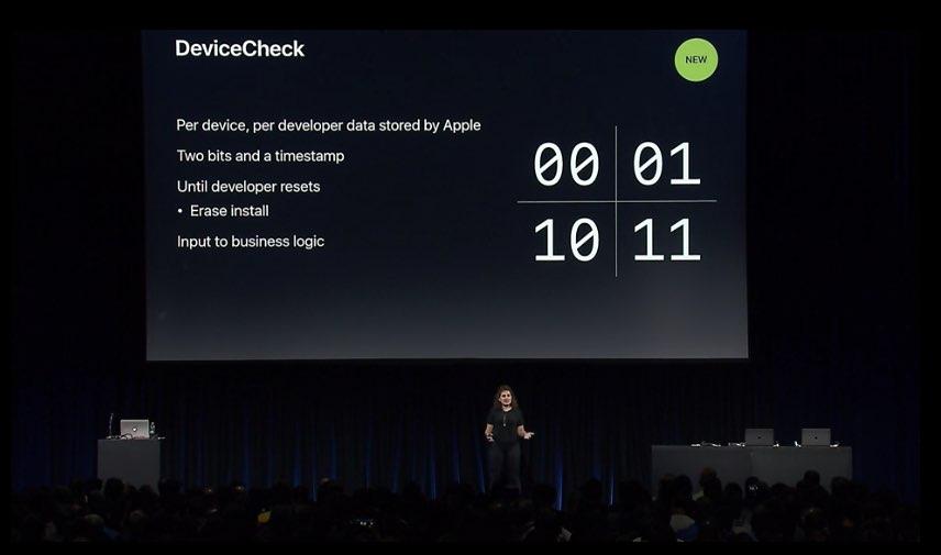 Devicecheck codes