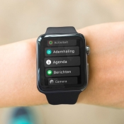 Zo gebruik je in watchOS 4 de alfabetische applijst op de Apple Watch