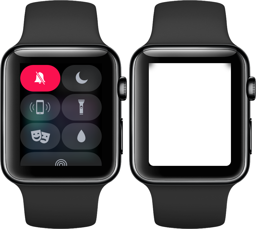 Zaklamp in watchOS 4 op Apple Watch.