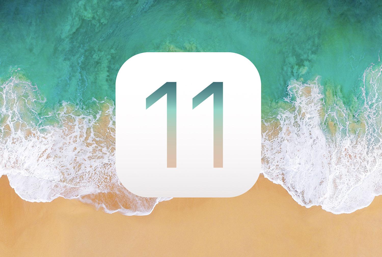 iOS 11 logo groot