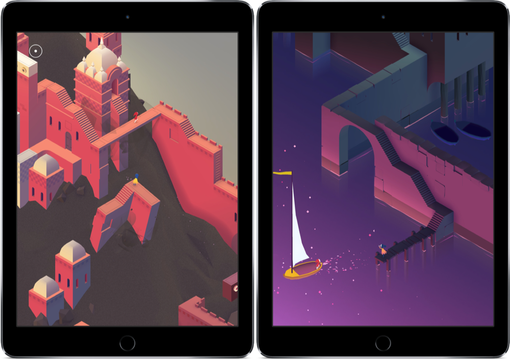 Monument Valley 2 levels met boot.