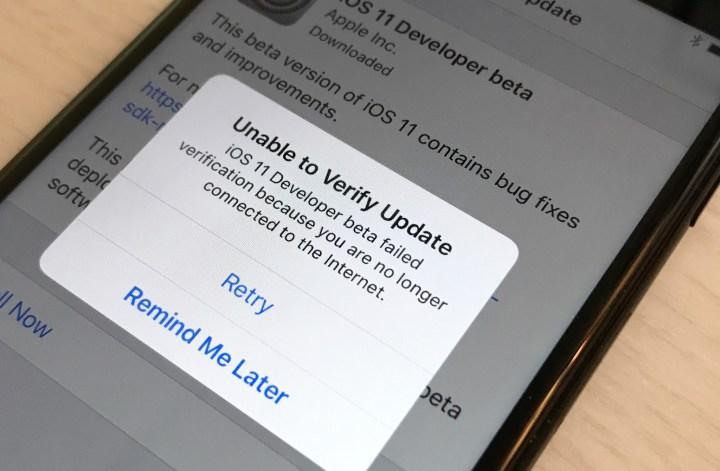 Nieuwe update iphone problemen 10.3