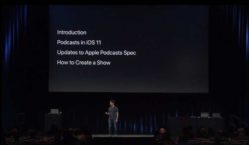 Podcasts-workshop op WWDC 2017