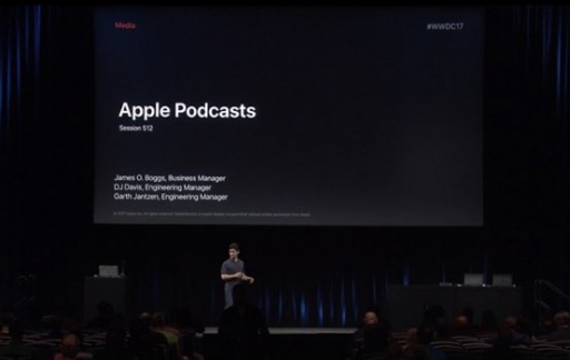 Apple Podcasts-sessie op WWDC 2017