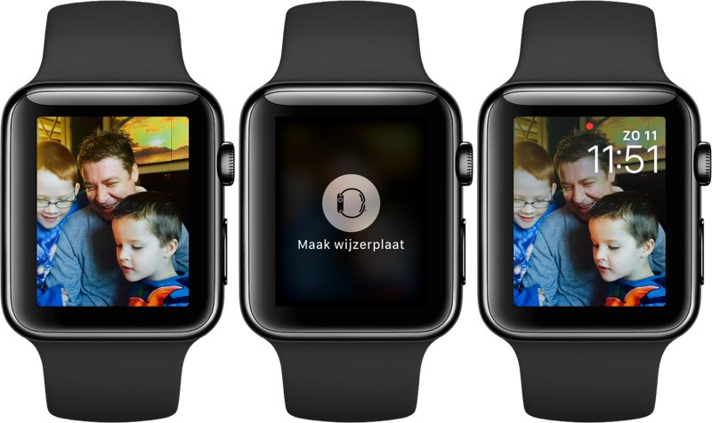 Apple Watch wijzerplaat maken