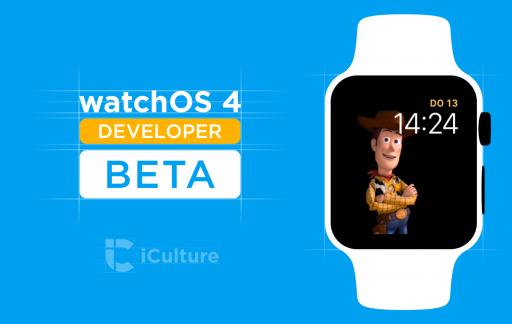 watchOS Beta voor ontwikkelaars