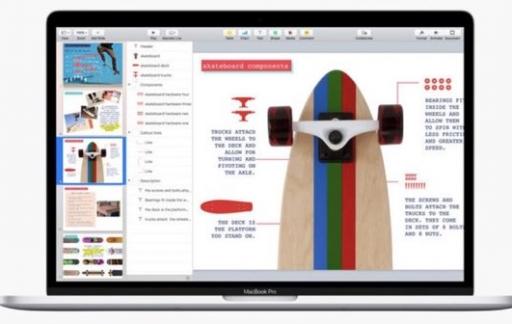 Keynote voor Mac met 500 vormen