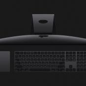 iMac Pro accessoires: Mac toetsenbord, trackpad en muis.