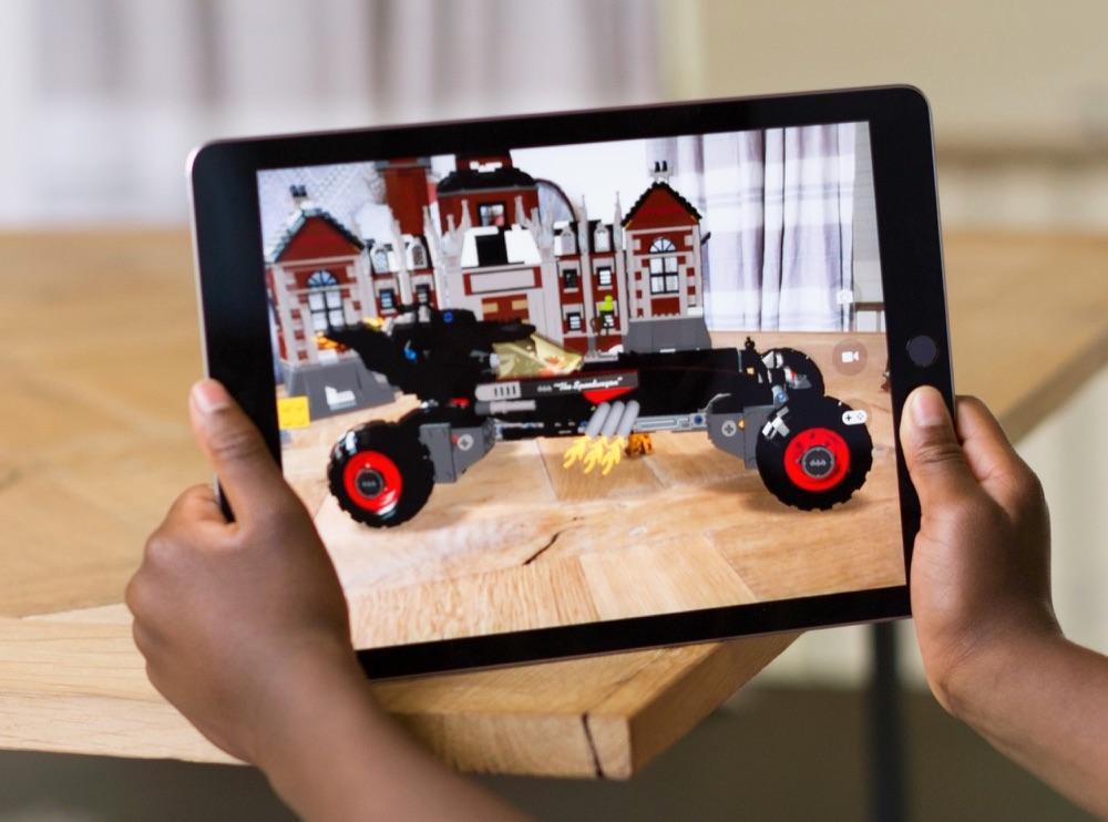 Apple's ARKit op de iPad.
