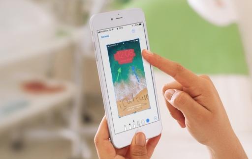 Screenshot bewerken met tekeningen en markeringen op de iPhone.