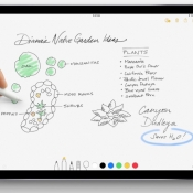 Notities maken met de Apple Pencil op iPad Pro.
