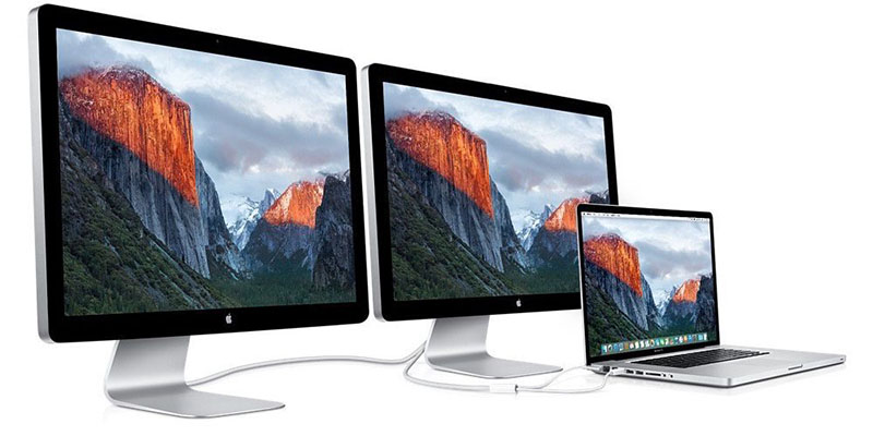 Thunderbolt Display met MacBook
