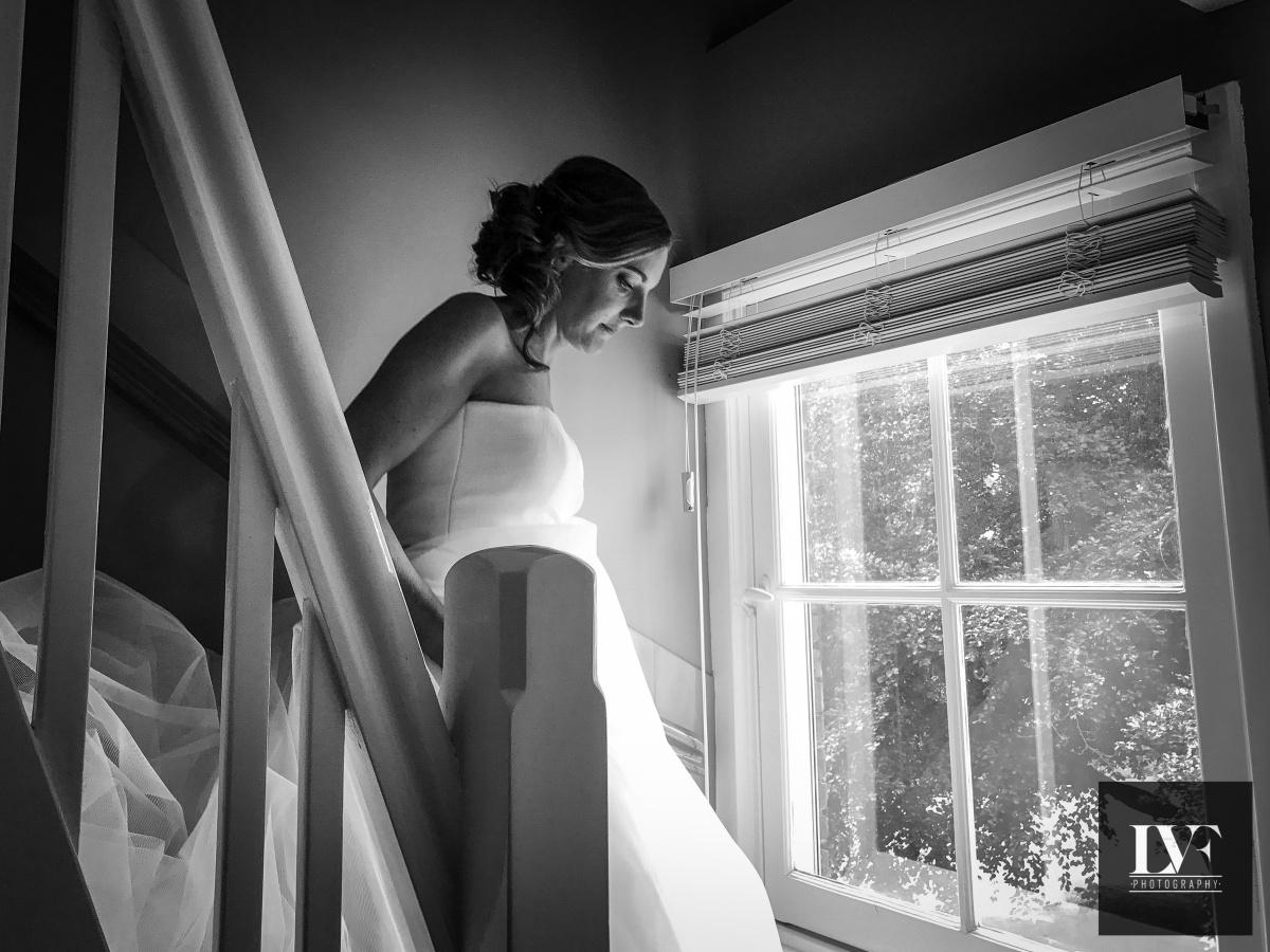 iPhone bruiloft: begin van de trouwdag bij de bruid