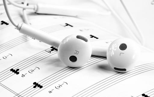 Muzieknoten EarPods