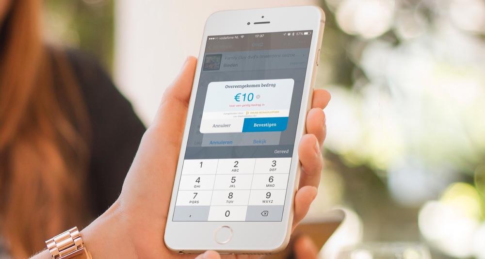 Marktplaats betaalverzoek op de iPhone.