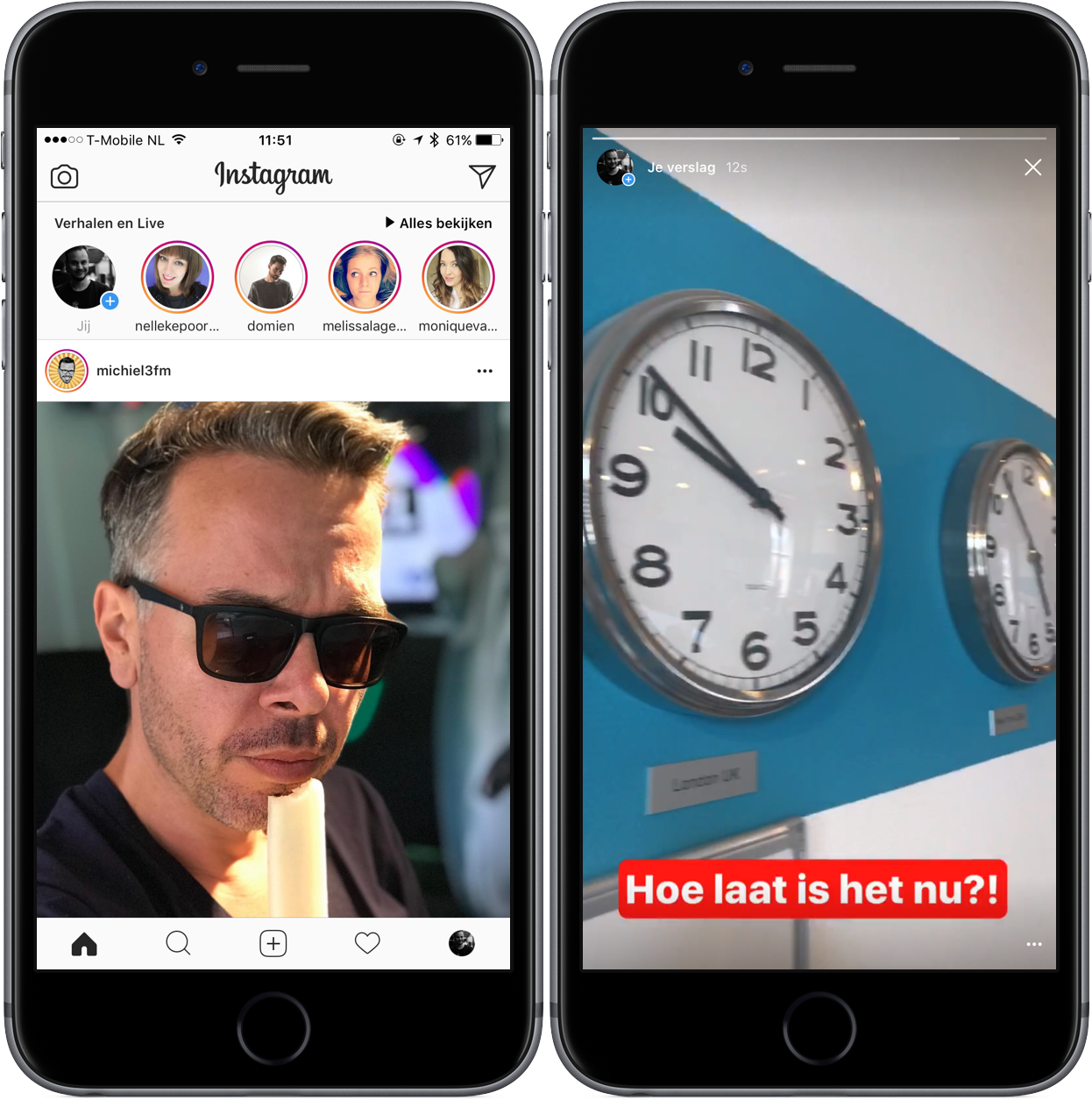 Instagram Stories bekijken