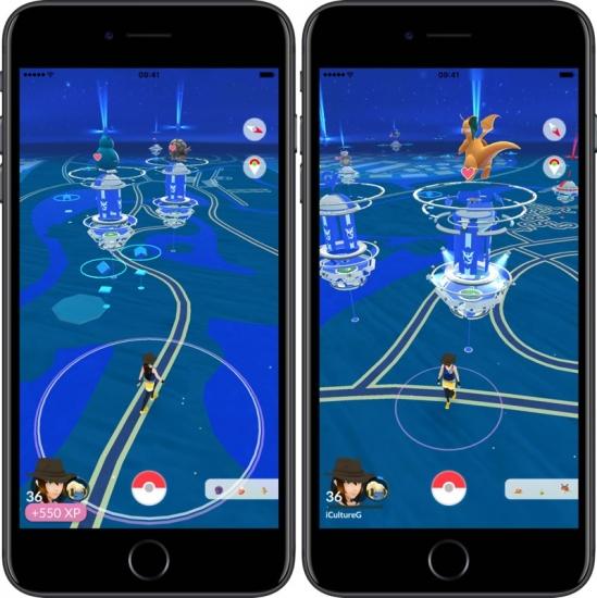 Pokémon Go: nieuwe Gyms zien er anders uit