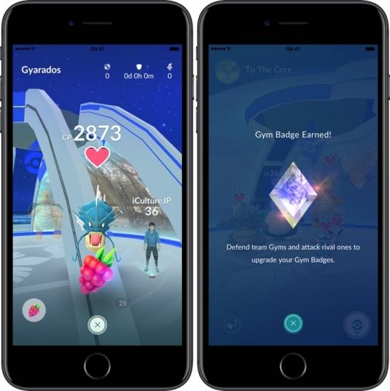 Pokémon Go: Gyms verzorgen en Badges verdienen