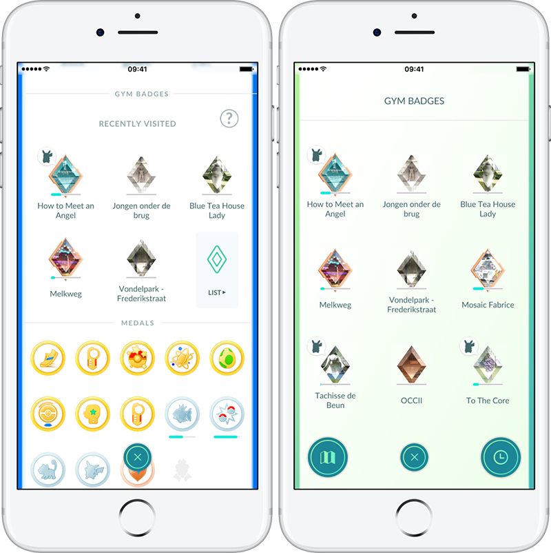 Welke Gym staat mijn Pokémon