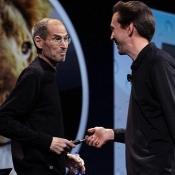 Scott Forstall en Steve Jobs