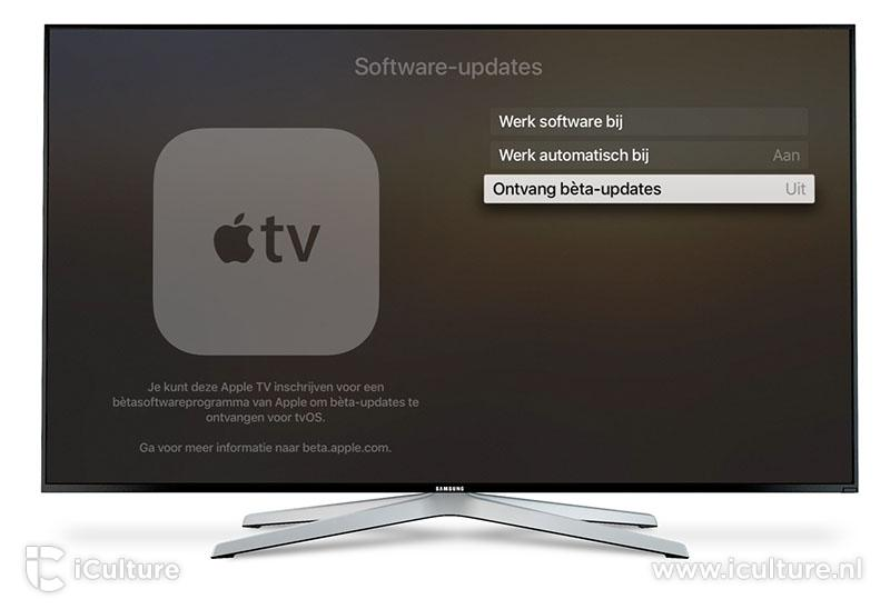 Apple TV: tvOS beta installeren