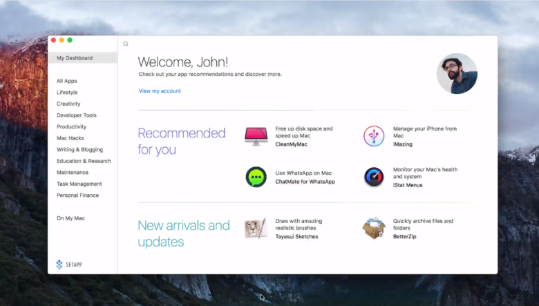 Setapp adviseert Mac-apps