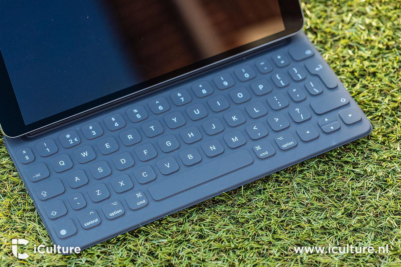 iPad Pro 2017 review: Smart Keyboard in gebruik