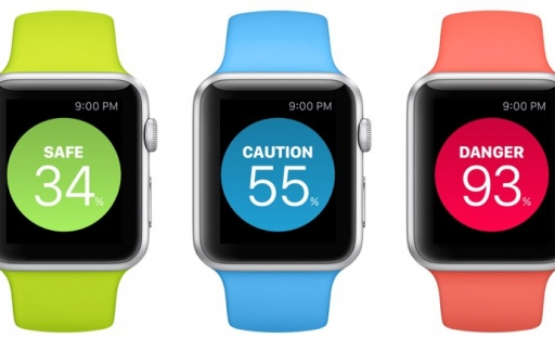 DataMan Next op Apple Watch