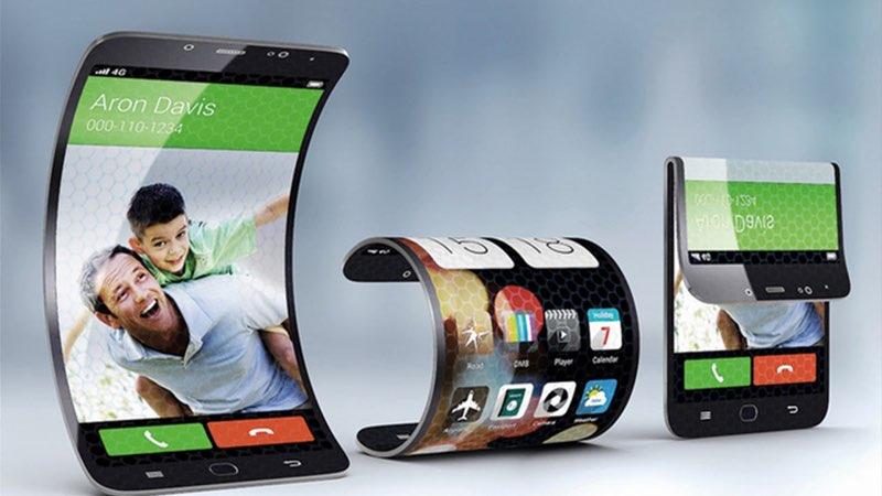 Samsung oprolbaar scherm
