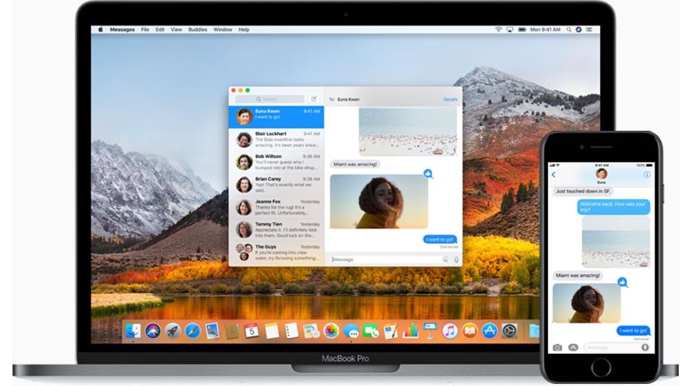 macOS High Sierra Berichten