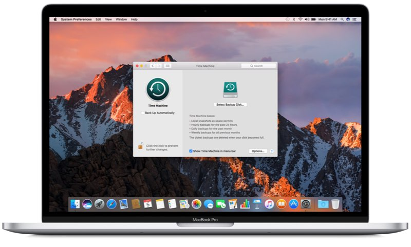 Backup macOS maken met Time Machine