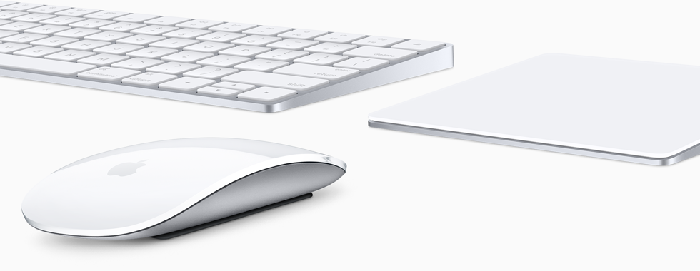 Magic Keyboard, Magic Mouse en Magic Trackpad van Apple