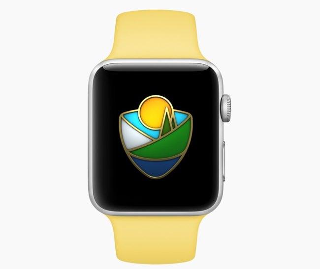 Apple Watch Nationale Parken-uitdaging