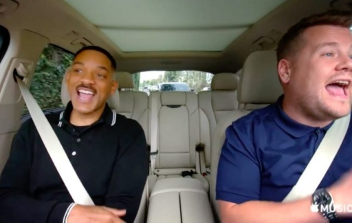 Carpool Karaoke met Will Smith en James Corden