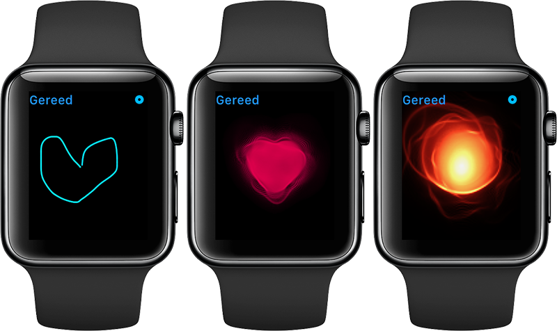 Hartslag sturen Apple Watch