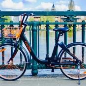 Met deze nieuwe fietsdeeldiensten huur je korte tijd een fiets via een app