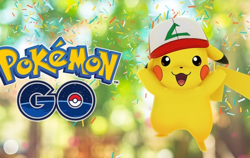 1 jaar Pokémon Go verjaardag