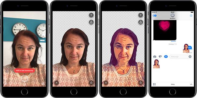 Sticky AI selfiestickers maken