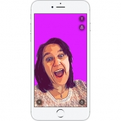 Sticky AI app maakt selfiestickers