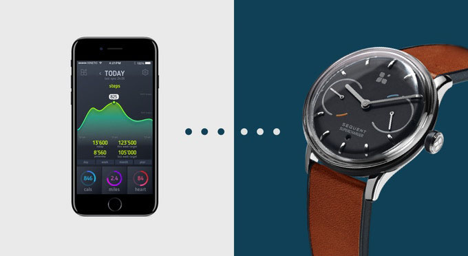 Sequent smartwatch app